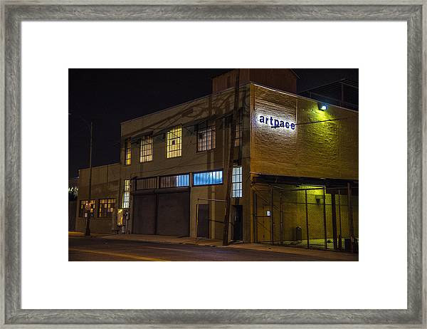 Framed Print featuring the photograph Night Lights by Break The Silhouette