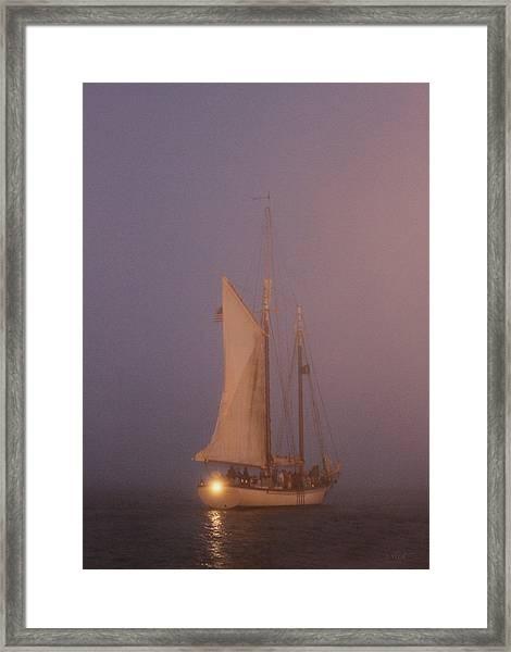 Night Passage Framed Print