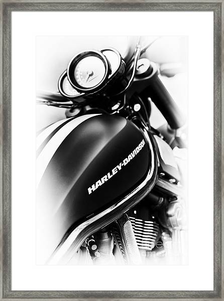 Night Rod Framed Print by Tim Gainey