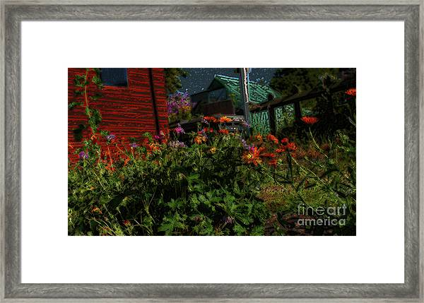 Night Shift For The Mice Framed Print