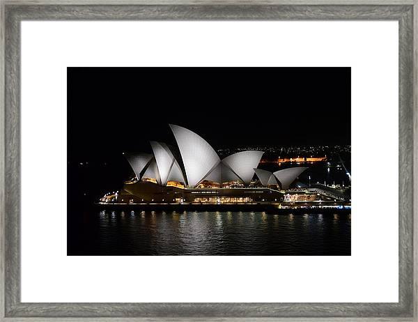 Night Symphony Framed Print