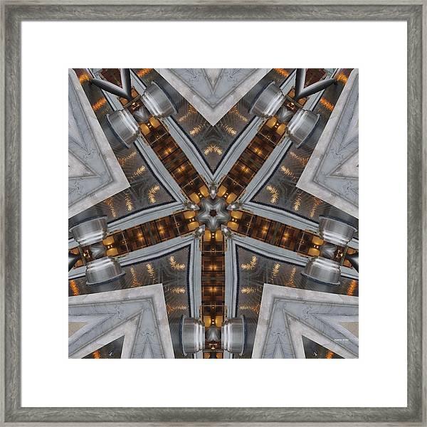 Framed Print featuring the digital art Nightlife 1316k5 by Brian Gryphon