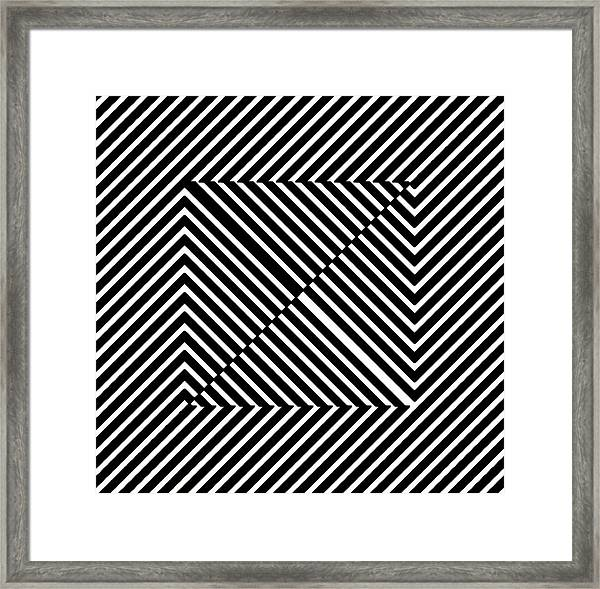 Nightlife Illusions Framed Print