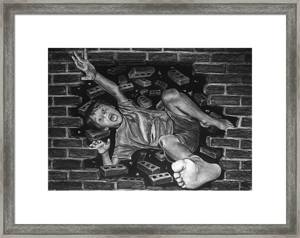 Nightmare On 73rd Street Framed Print