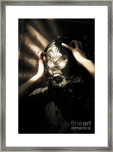 Nightmare Screams Framed Print