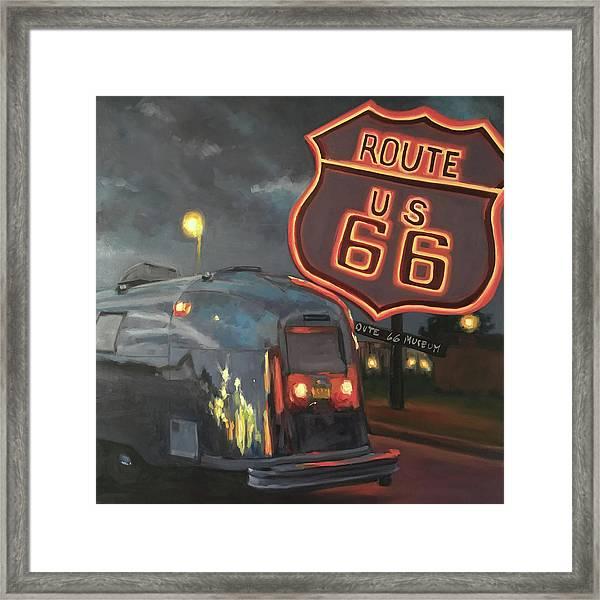 Nighttime Cruise Framed Print