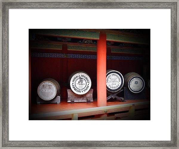 Nikka Whiskey Framed Print