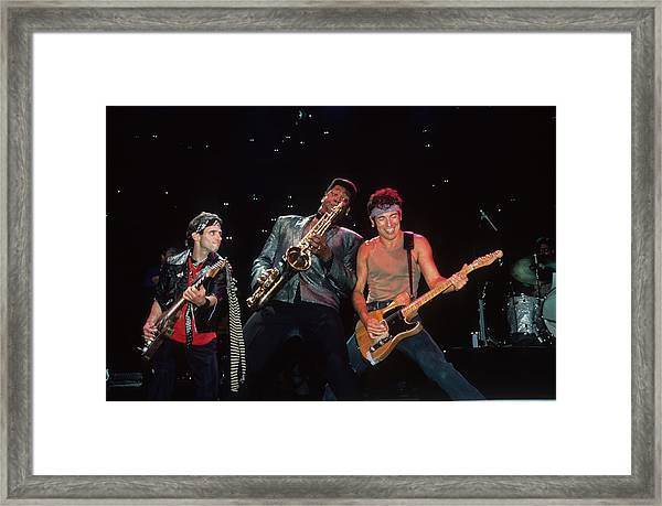 Nils Clarence And Bruce Framed Print