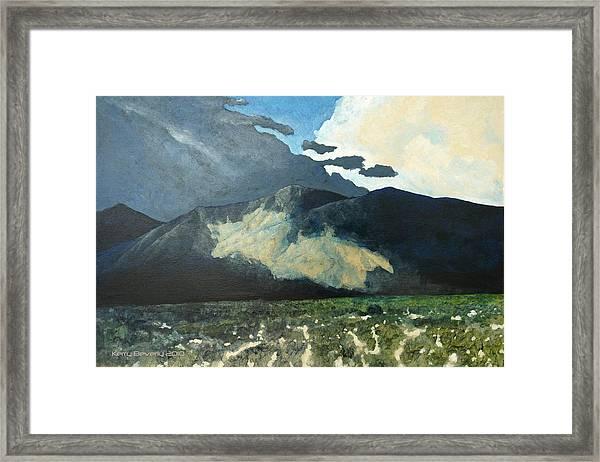 Nimble Light Framed Print