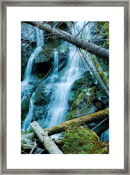 Nine Mile Falls Framed Print