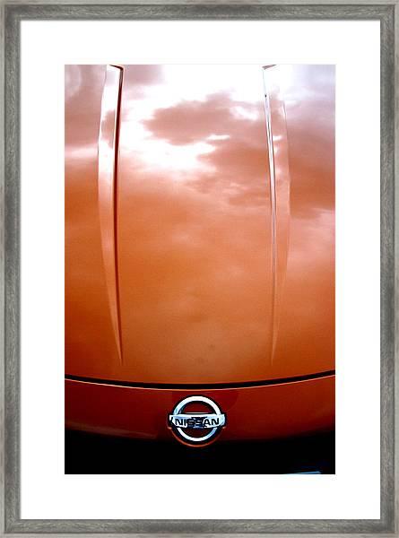 Nissan 11 Framed Print by Jez C Self
