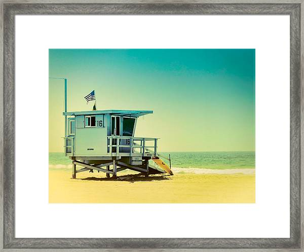 No 16 - Wish You Were Here Framed Print