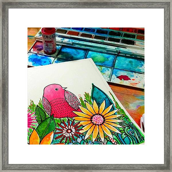 No Better Way To Start The Day...have A Framed Print