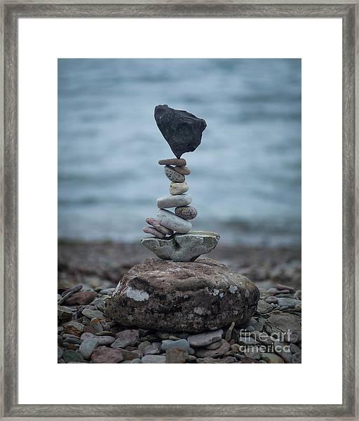 Zen Stack #6 Framed Print