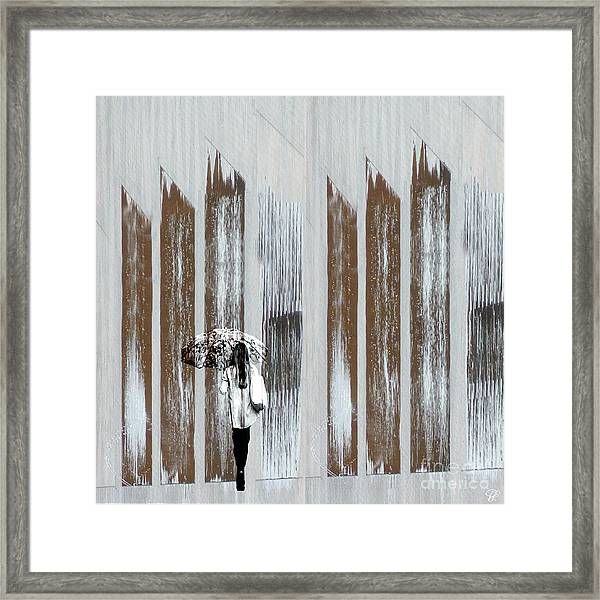 No Rain Forest Framed Print