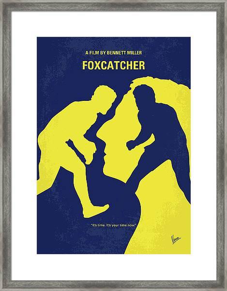 No788 My Foxcatcher Minimal Movie Poster Framed Print