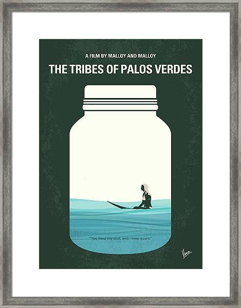 No957 My The Tribes Of Palos Verdes Minimal Movie Poster Framed Print