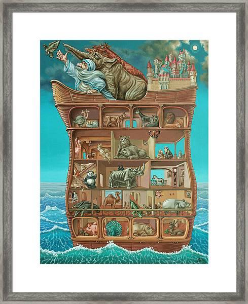 Noahs Arc Framed Print