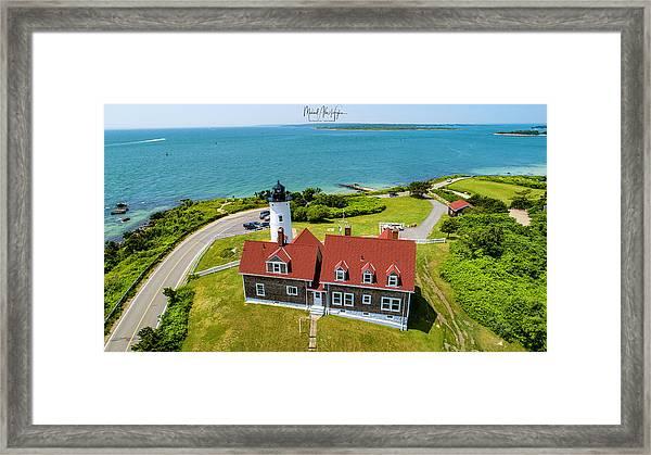 Nobska Light House  Framed Print