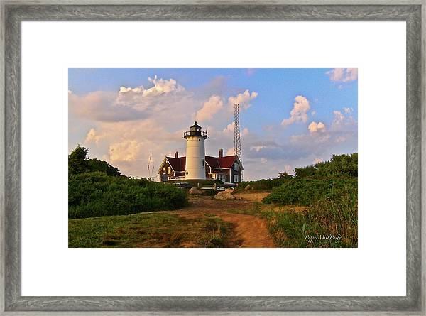 Nobska Lighthouse Framed Print