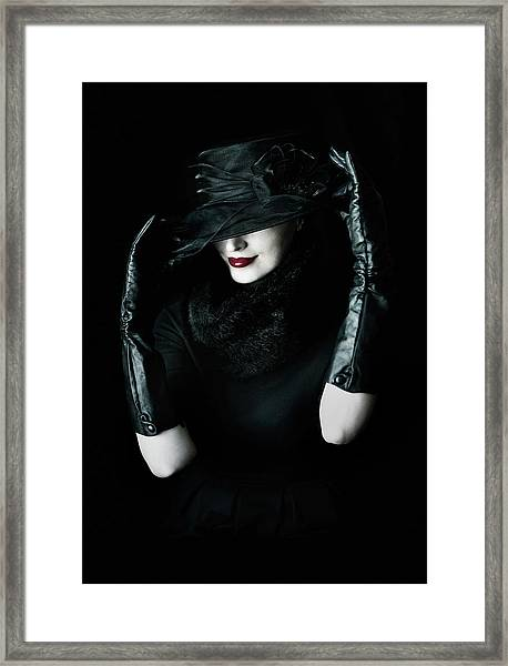 Noir Framed Print by Cambion Art