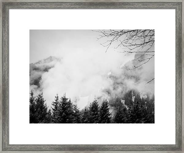Noiseless I Framed Print