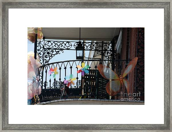 Nola French Quarter Framed Print