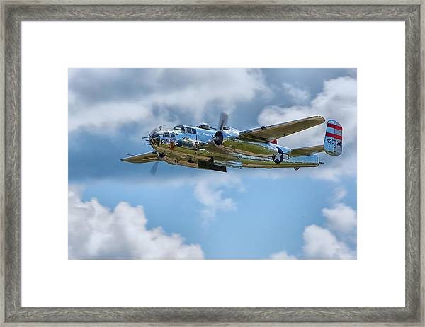 North American B-25 Mitchell Framed Print