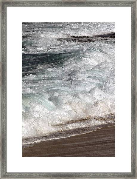 North Beach, Oahu II Framed Print