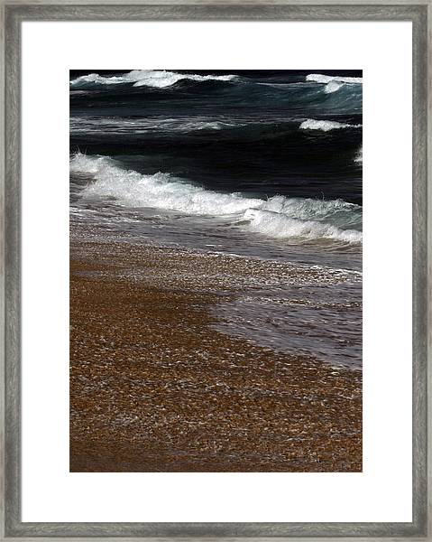 North Beach, Oahu IIi Framed Print