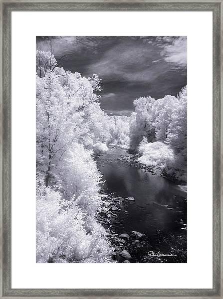 North Branch, Deerfield River 4657 Framed Print