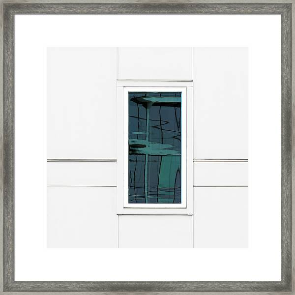 North Carolina Windows 2 Framed Print