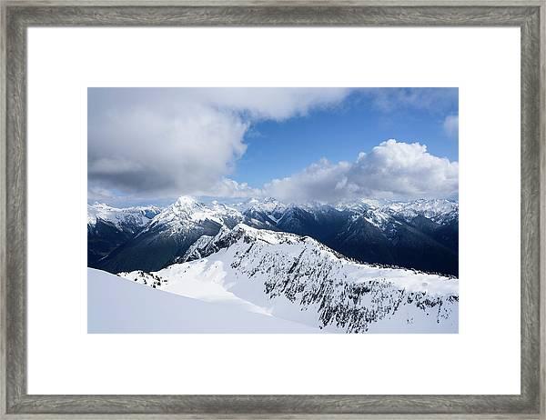 North Cascade Mountains Framed Print