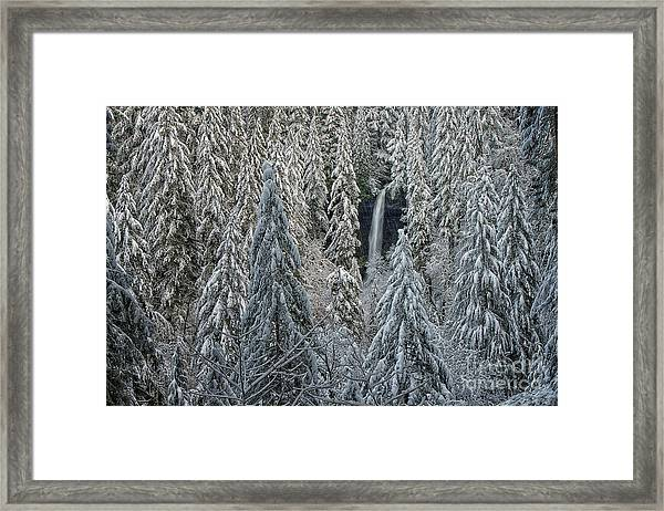North Falls Framed Print