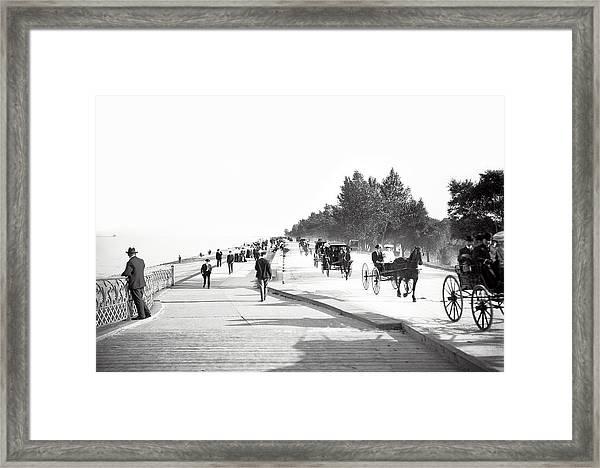 North Lake Shore Drive - Chicago 1905 Framed Print