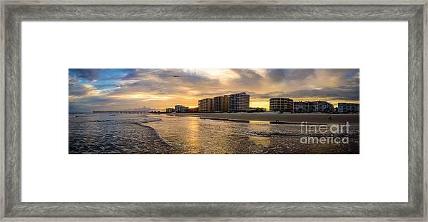North Myrtle Beach Sunset Framed Print