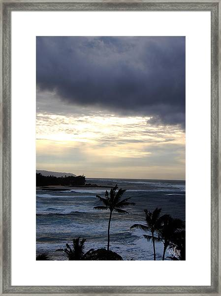 North Shore Morning Framed Print by Thea Wolff