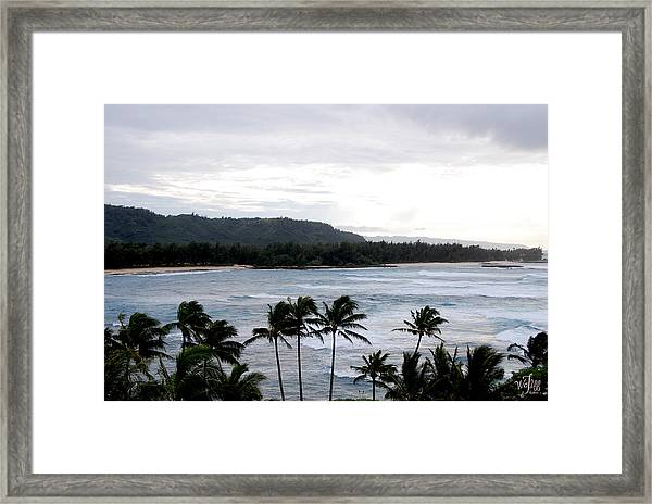 North Shore Framed Print by Thea Wolff