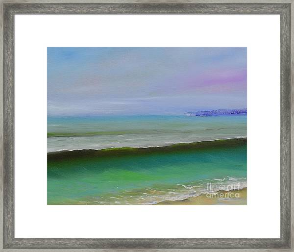 North To Dana Point Framed Print