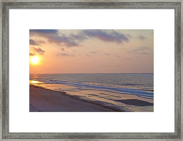 North Topsail Beach Glory Framed Print