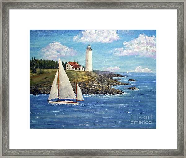 Northeast Coast Framed Print