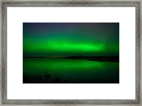 Northen Lights Framed Print