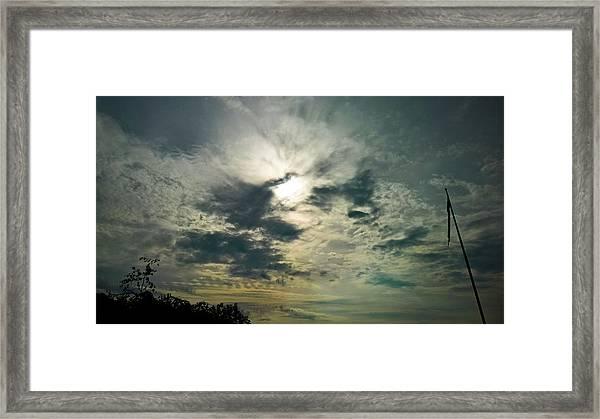 Northern Sky Framed Print