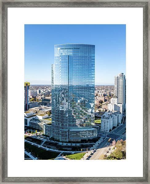 Northwestern Mutual Tower Framed Print