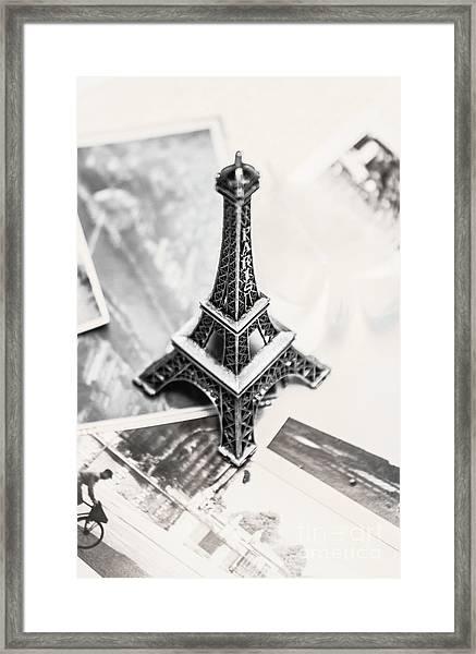 Nostalgia In France Framed Print