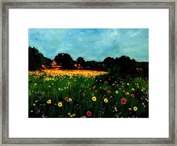 Not Another Bluebonnet Painting Framed Print