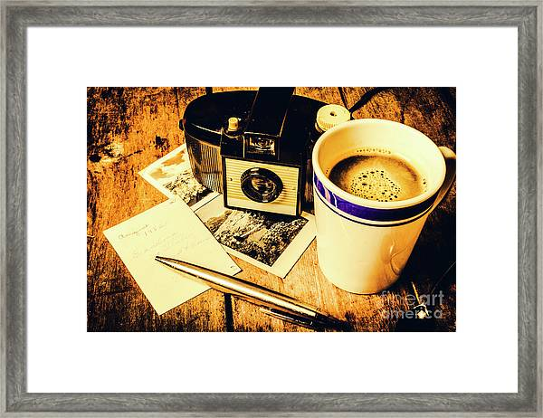 Notes Of Past Recollection Framed Print