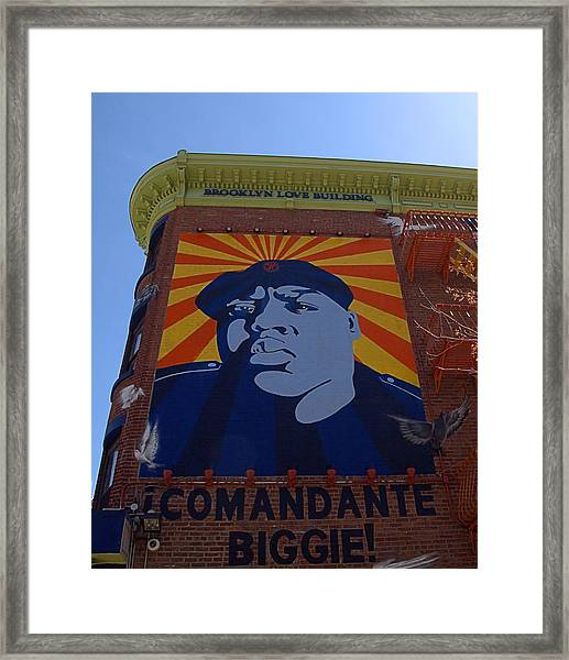 Notorious B.i.g. I I Framed Print
