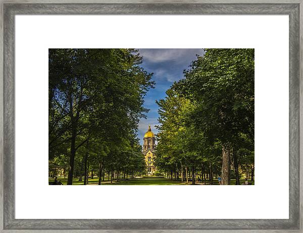 Notre Dame University 2 Framed Print