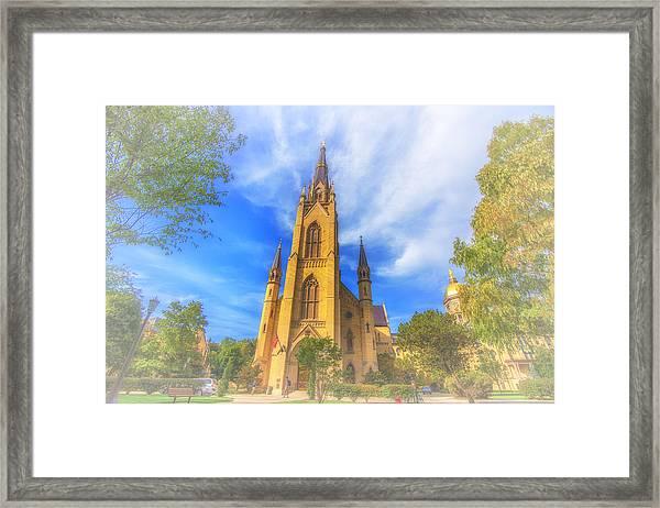 Notre Dame University 5 Framed Print